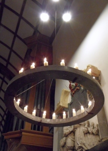 Minster Church of St. Andrew Candle Ring